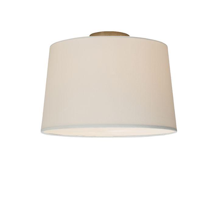 Plafonnière-Combi-40cm-wit-met-blender