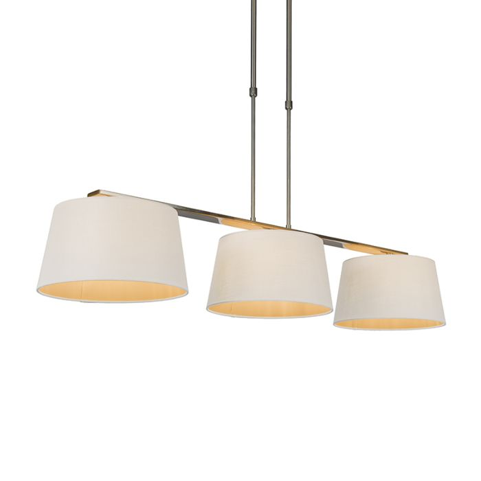 Hanglamp-Combi-Delux-3-kap-rond-30cm-wit