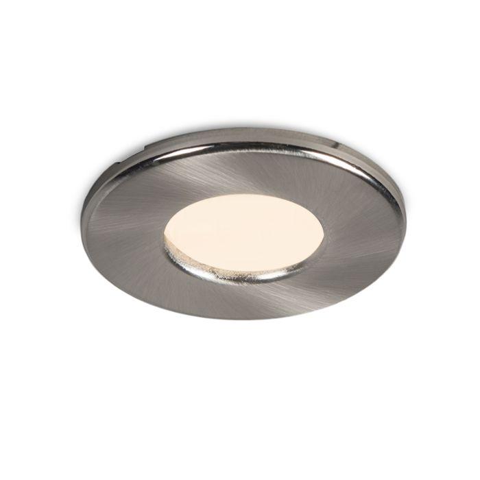 Moderne-ronde-inbouwspot-wit-IP44---Hole
