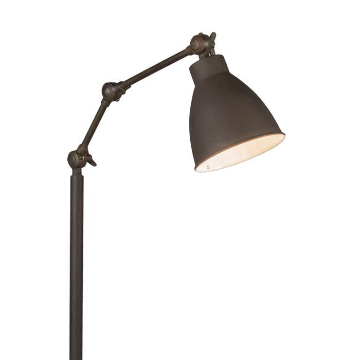Vloerlamp-Dekan-roestkleur