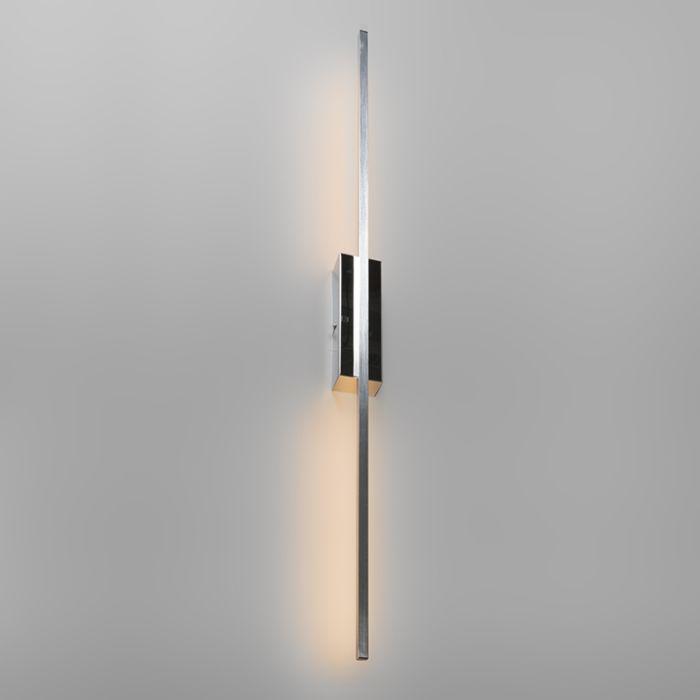Wandlamp-Paddle-staal