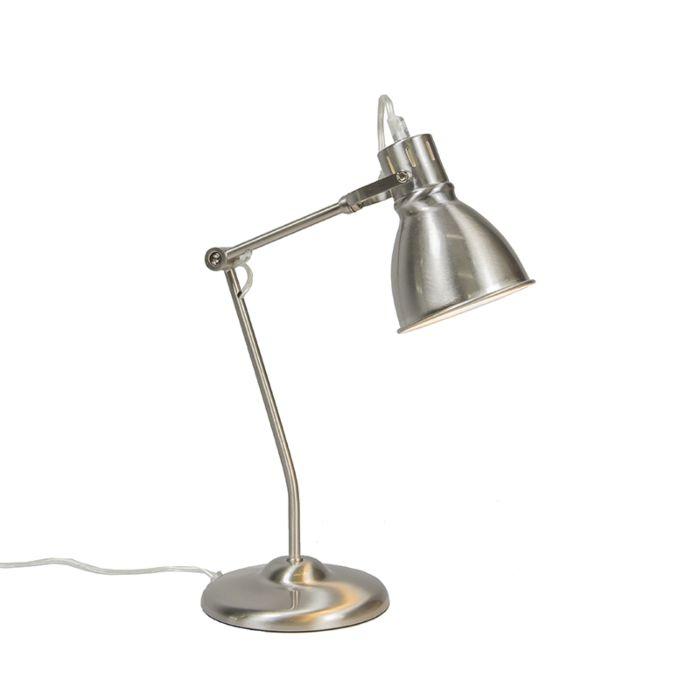 Tafellamp-Goblet-nikkel