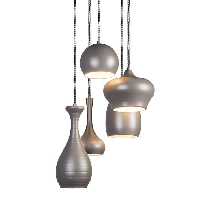 Design-Hanglamp-Drops-5-grijs