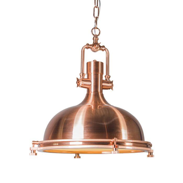 Hanglamp-Solid-koper-matte-design