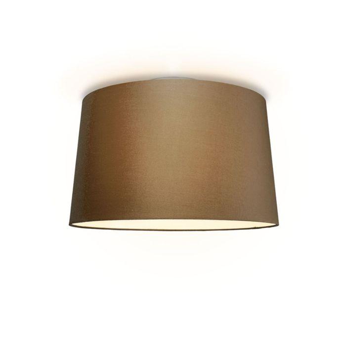 Plafonniere-Ton-rond-50-bruin