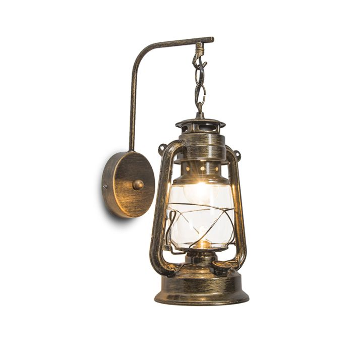 Wandlamp-Laterna-goud