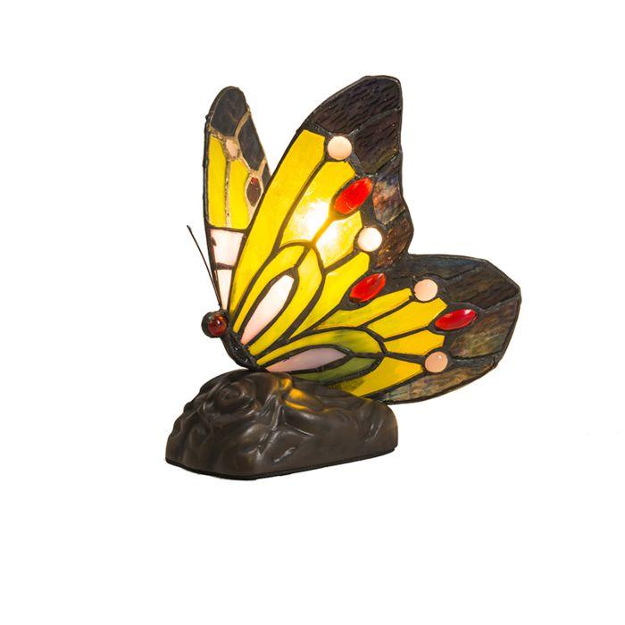 Tafellamp-Tiffany-Butterfly