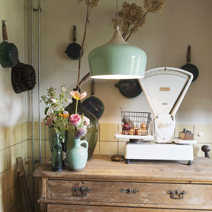 Hanglamp-Pine-mintgroen