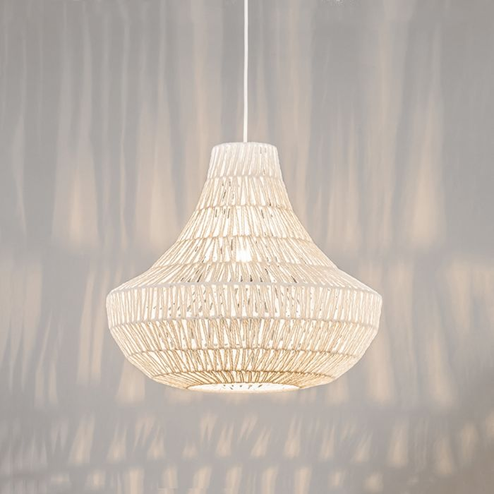 Retro-hanglamp-wit-50-cm---Lina-Cono-50-