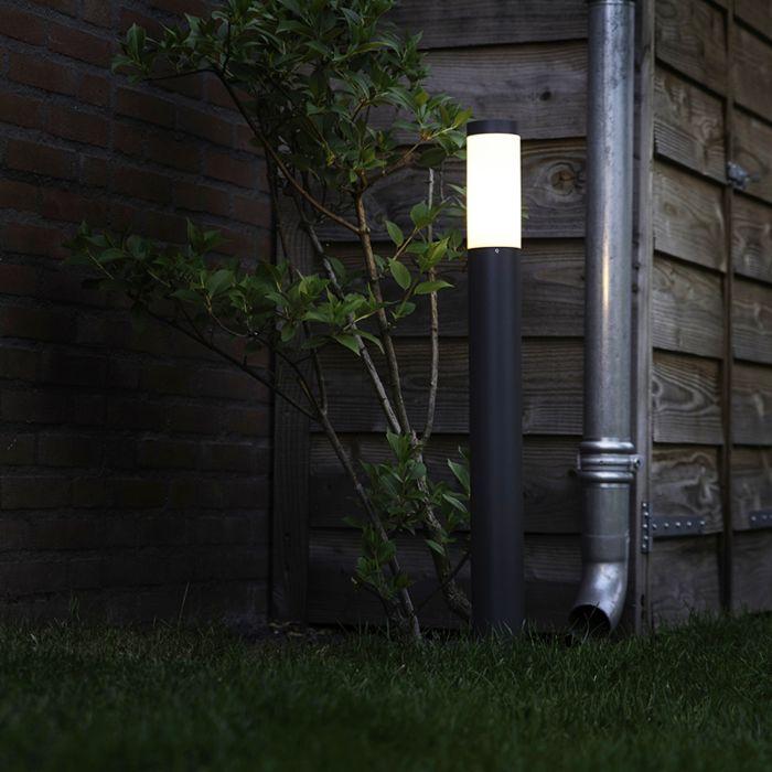 Buitenlamp-paal-antraciet-80-cm-IP44---Rox