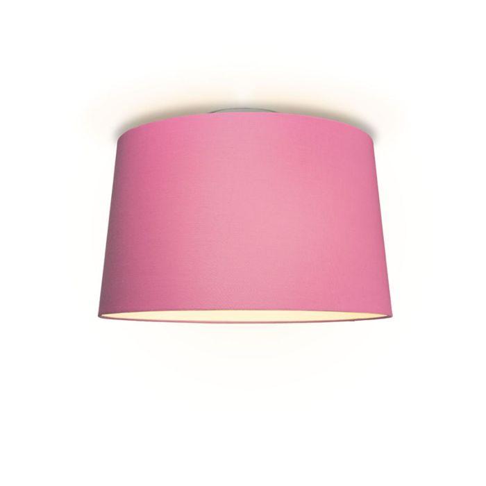 Plafonniere-Ton-rond-50-roze