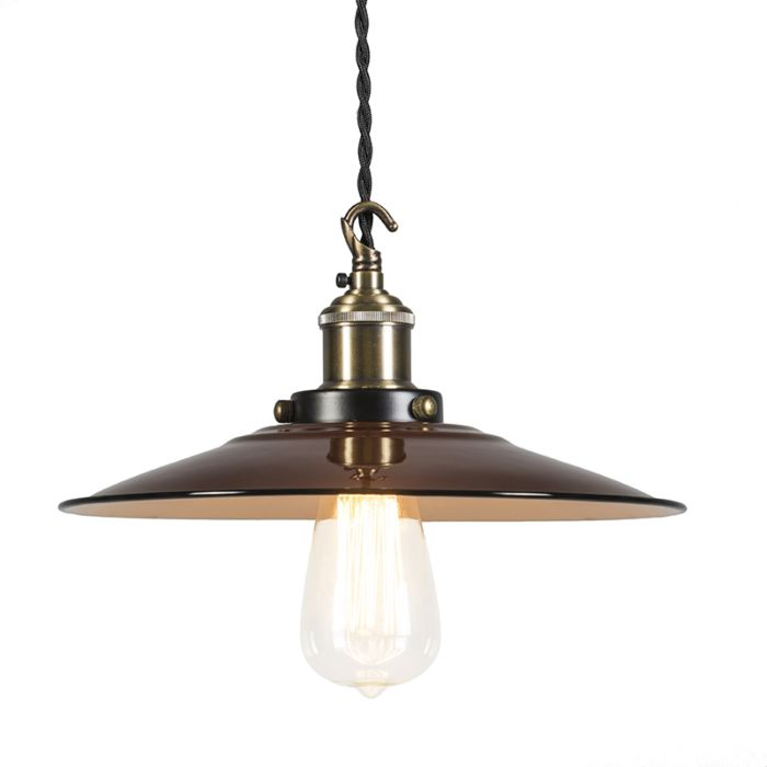 Hanglamp-Skipper-deluxe-bruin