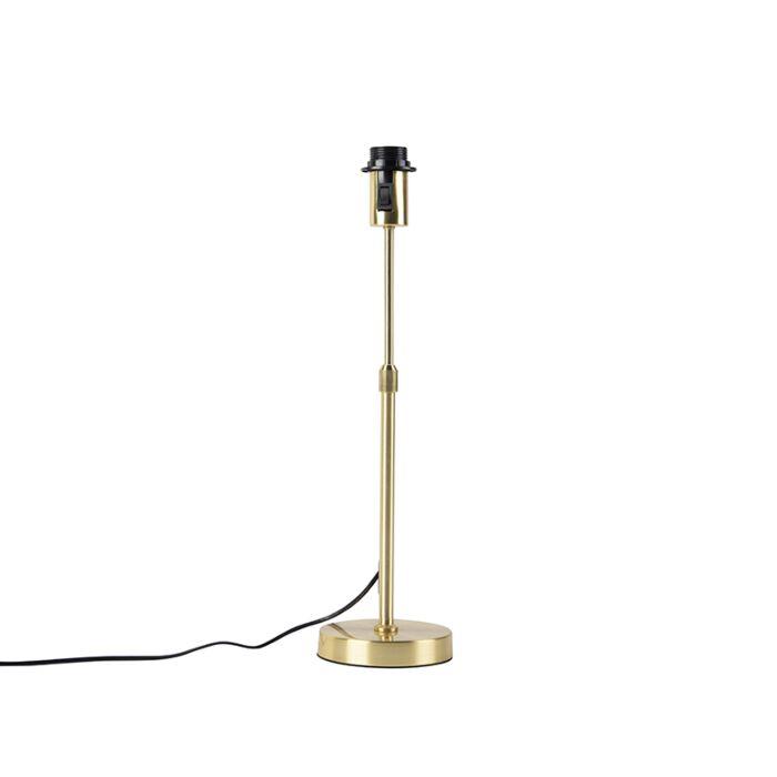 Tafellamp-goud/messing-verstelbaar---Parte