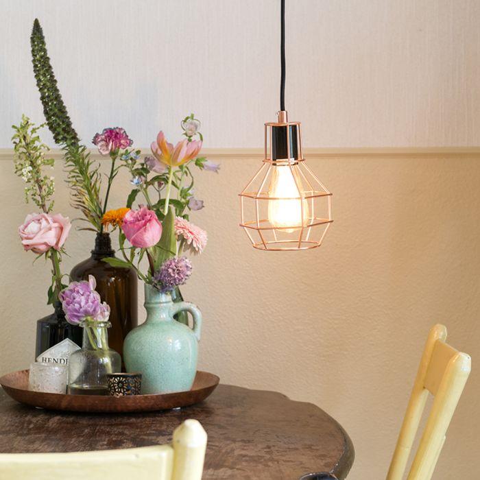 Hanglamp-Licor-koper