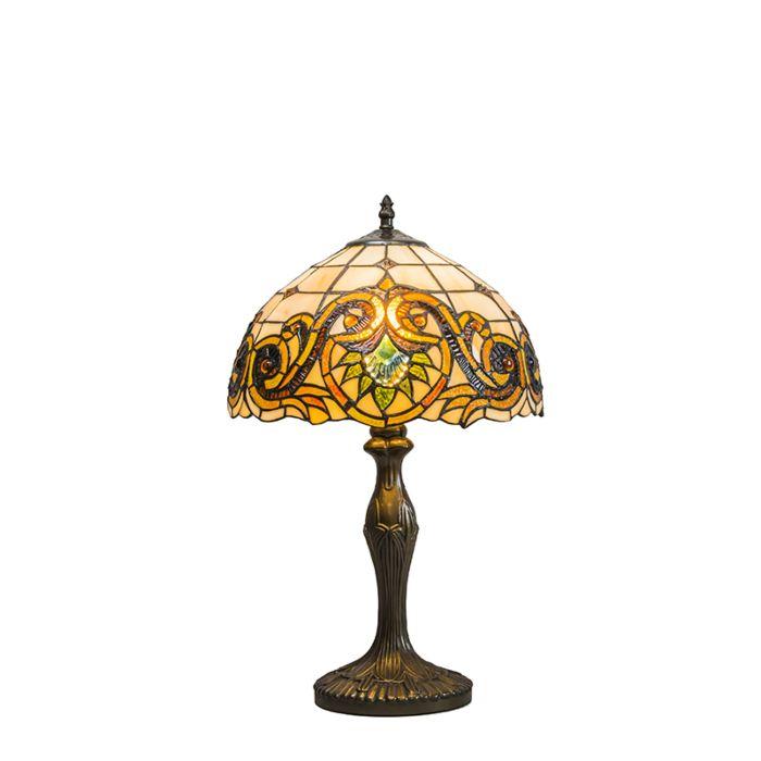 Tafellamp-Tiffany-Sunflower-30