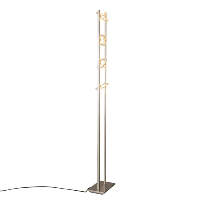 Vloerlamp-Escalera-staal
