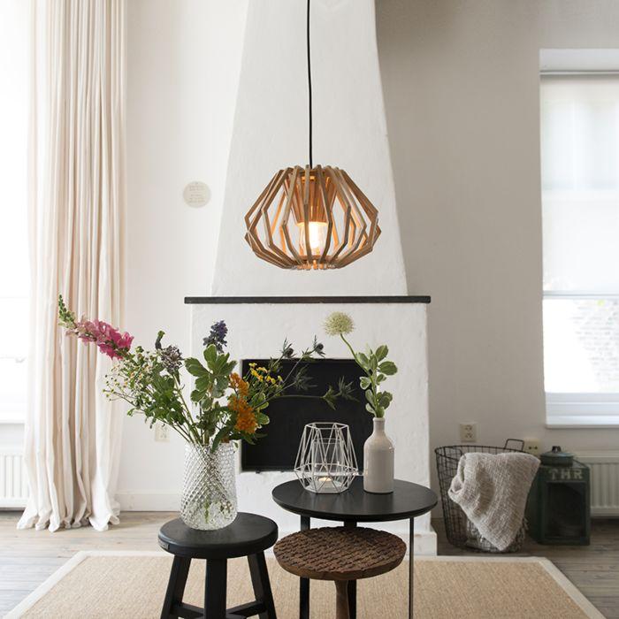 Hanglamp-Mirlo-hout
