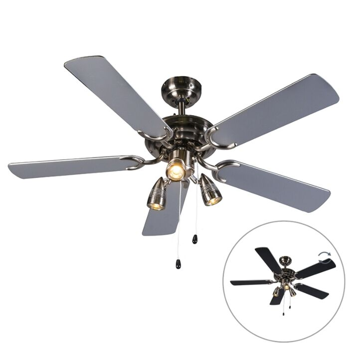 Plafondventilator-Mistral-42-grijs