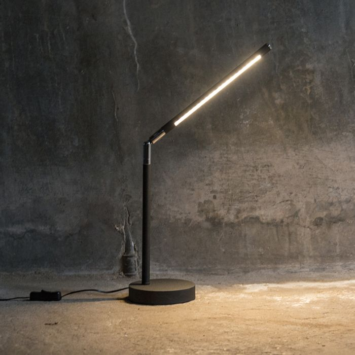 Tafellamp-Berdien-S-zwart