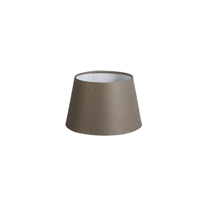 Kap-20cm-rond-DS-E27-linnen-taupe