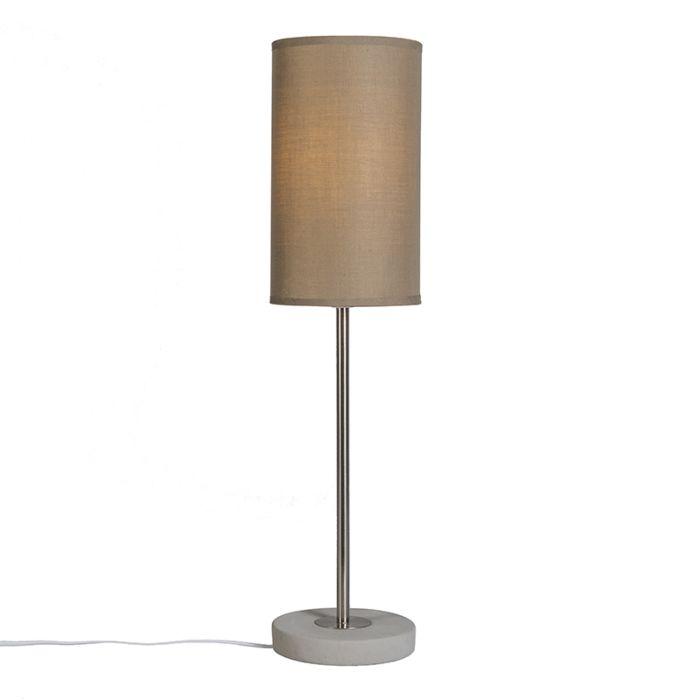 Tafellamp-Concreto-taupe
