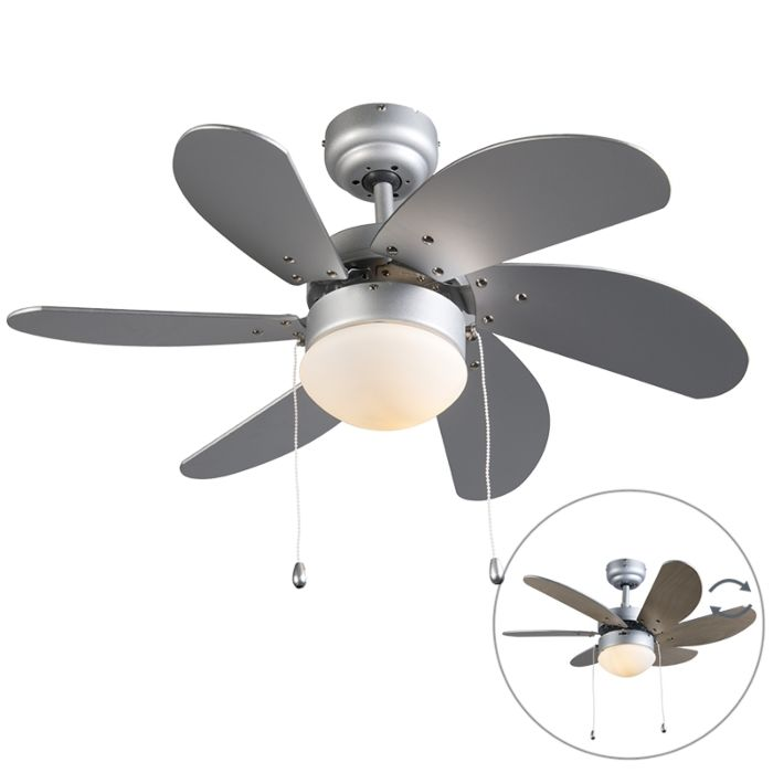 Plafondventilator-Fresh-30-grijs