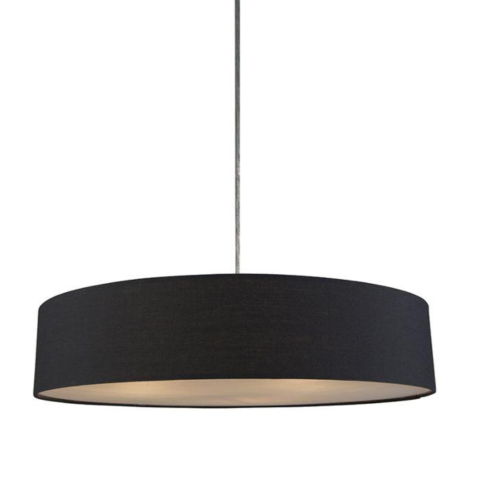 Hanglamp-Drum-Basic-50-zwart