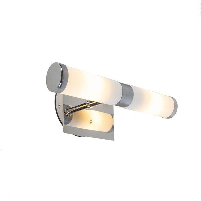 Klassieke-wandlamp-chroom-IP44---Bath-2