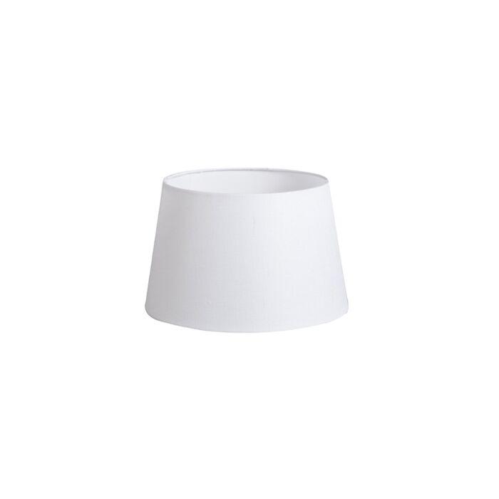 Linnen-lampenkap-wit-25/16