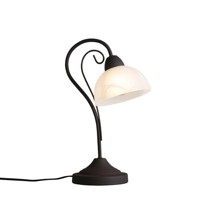 Tafellamp-Dallas-1-roestbruin