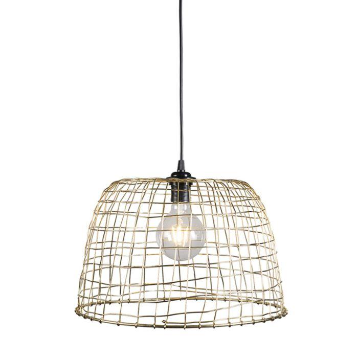 Hanglamp-Basket-40-goud