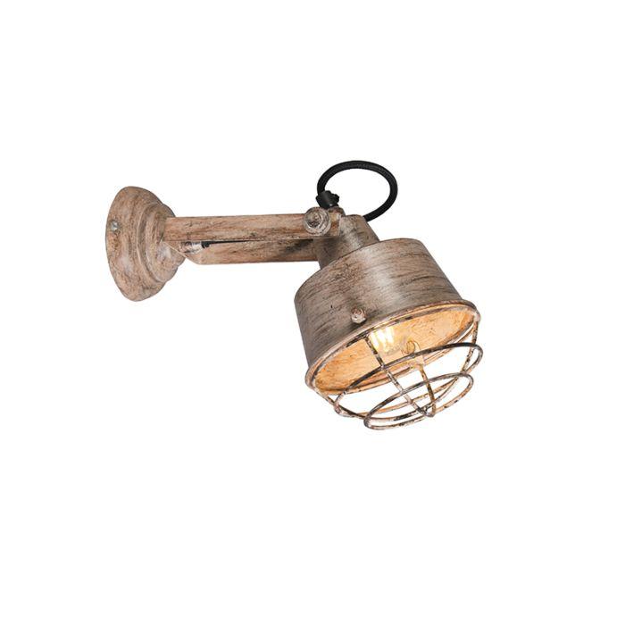 Wandlamp-Lanzat-beige
