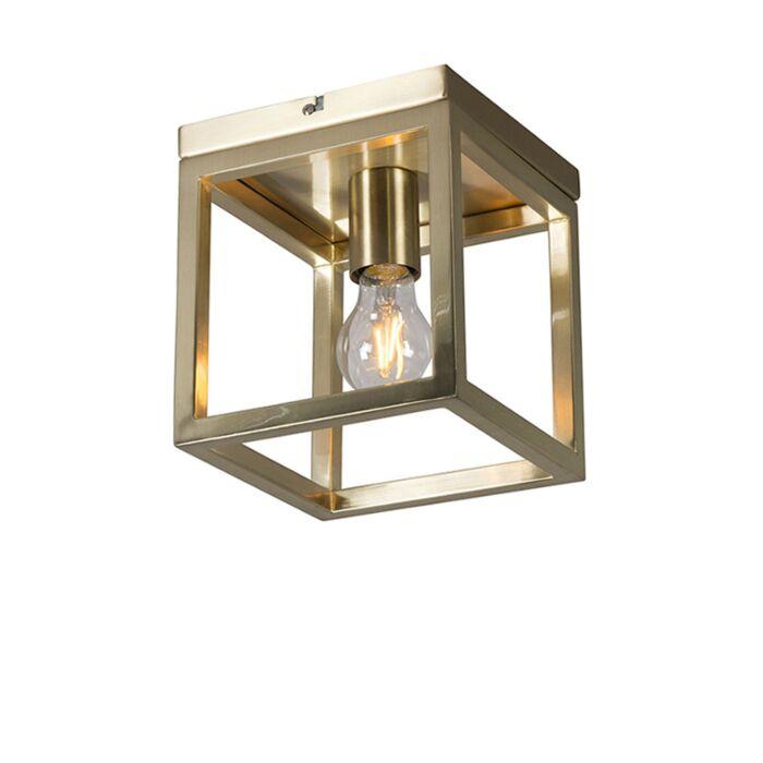 Plafondlamp-Cage-1-goud
