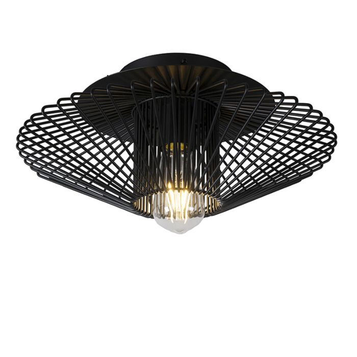 Plafondlamp-Bozzo-zwart