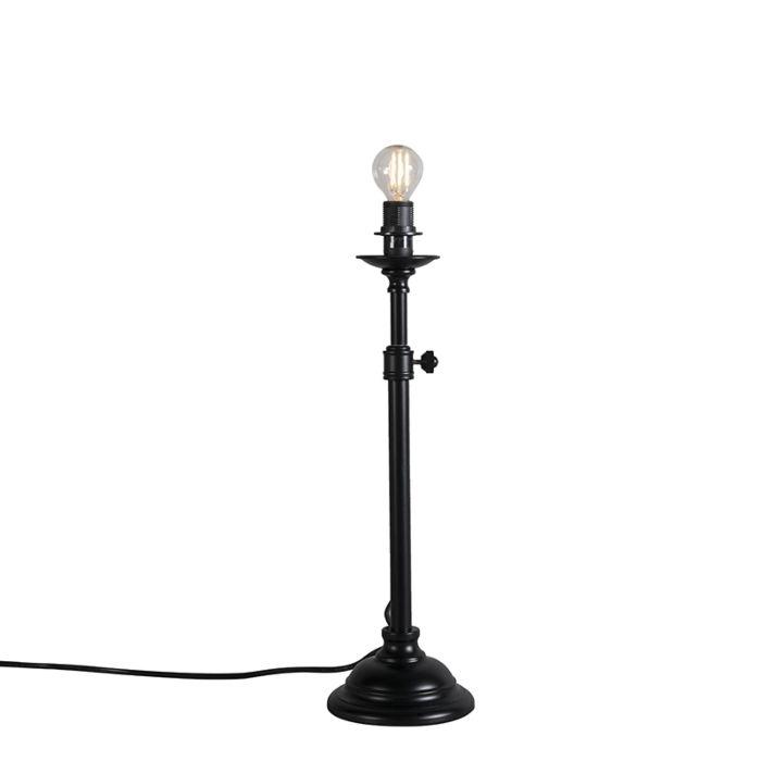 Tafellamp-Accia-mat-zwart