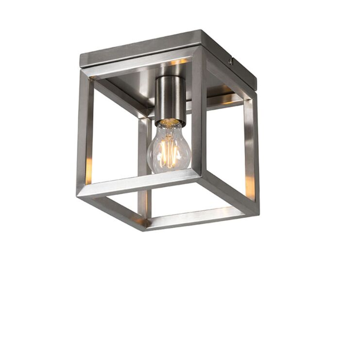 Plafondlamp-Cage-1-staal