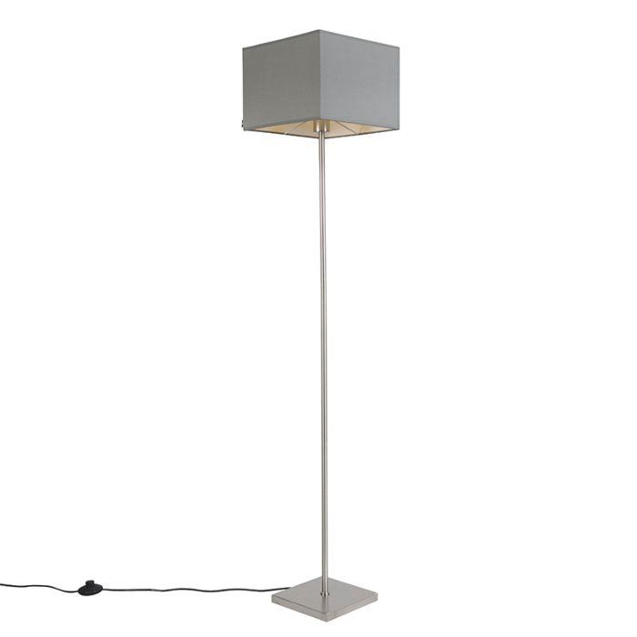 Moderne-vloerlamp-grijs---VT-1