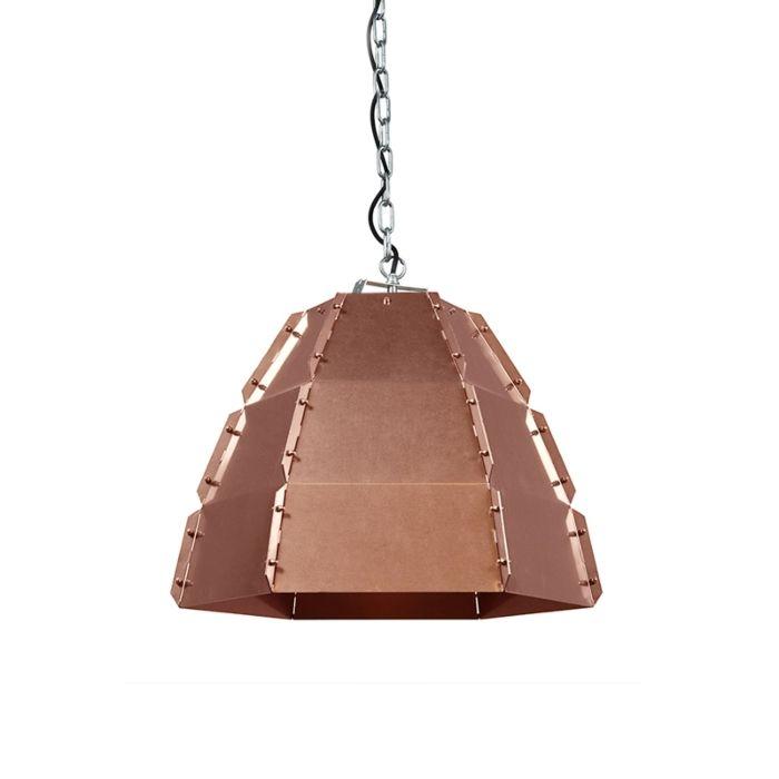 Design-hanglamp-koper---Niro