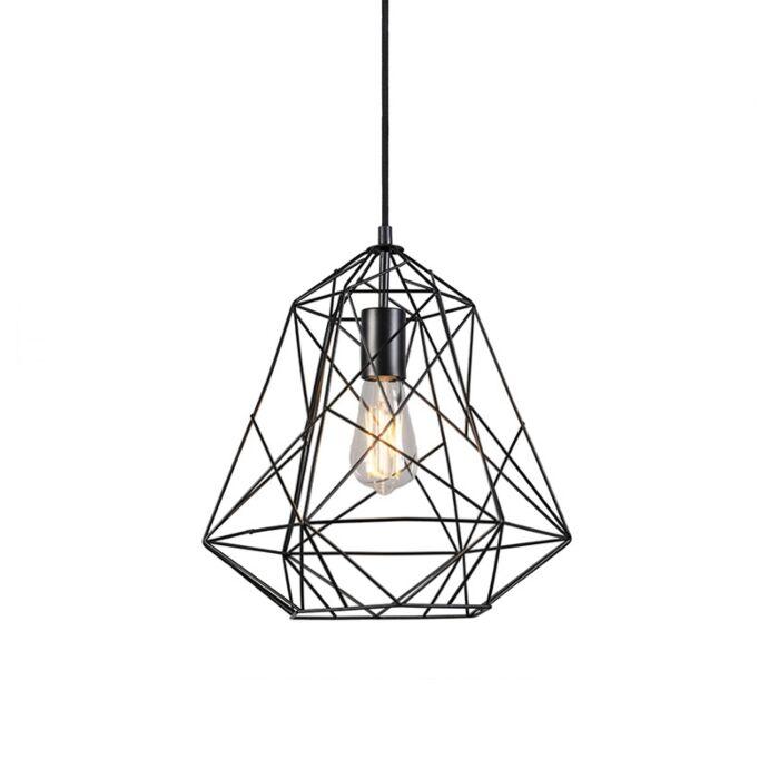 Industriële-hanglamp-zwart---Framework-Basic-