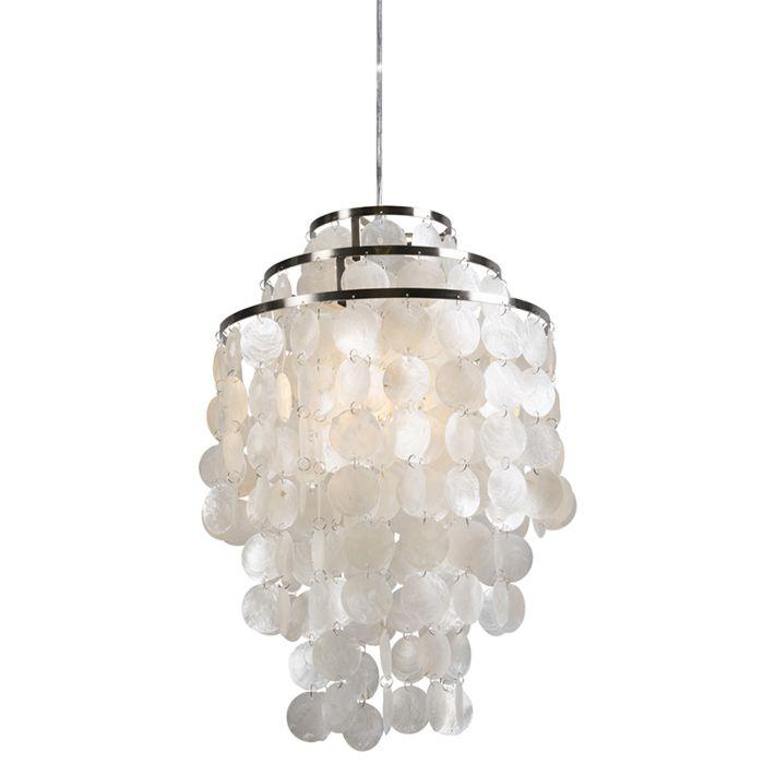 Hanglamp-Flake-wit