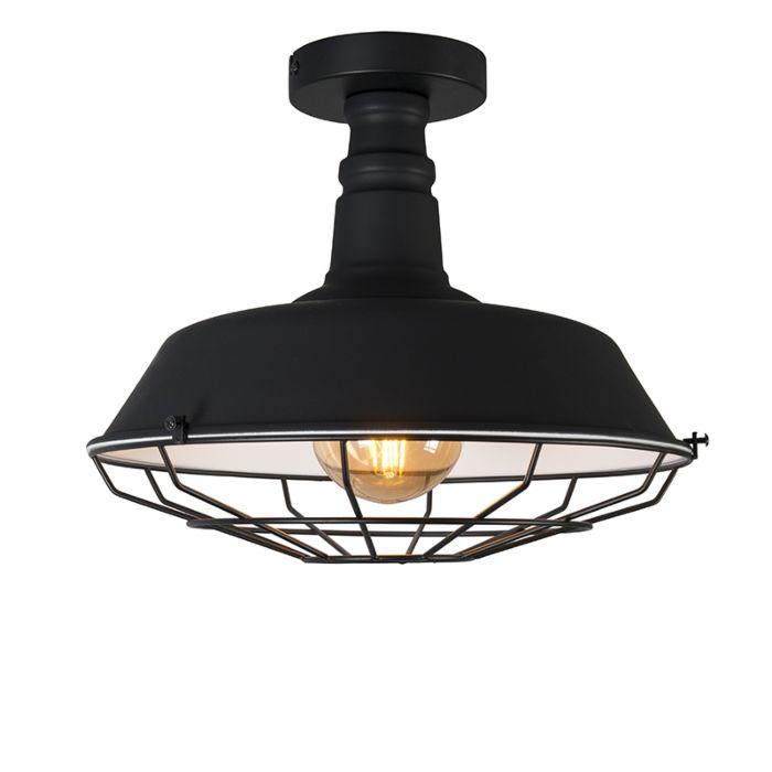 Plafondlamp-Delero-zwart
