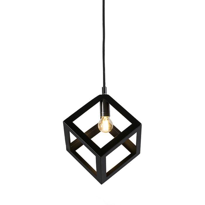 Hanglamp-Cage-zwart