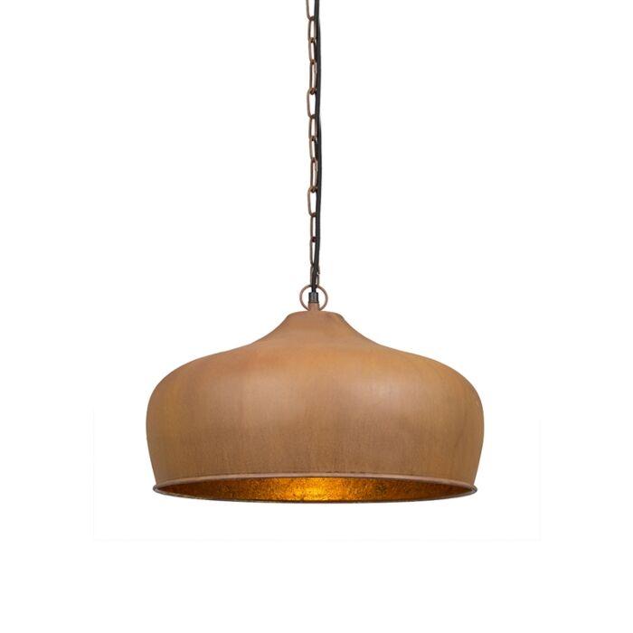 Vintage-hanglamp-roestbruin---Colt