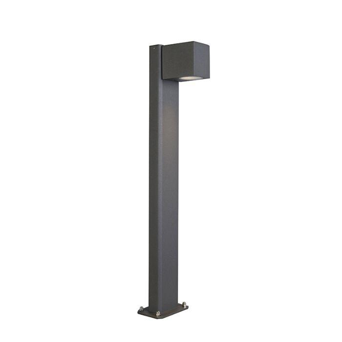 Industriële-staande-buitenlamp-antraciet-65-cm-IP44---Baleno