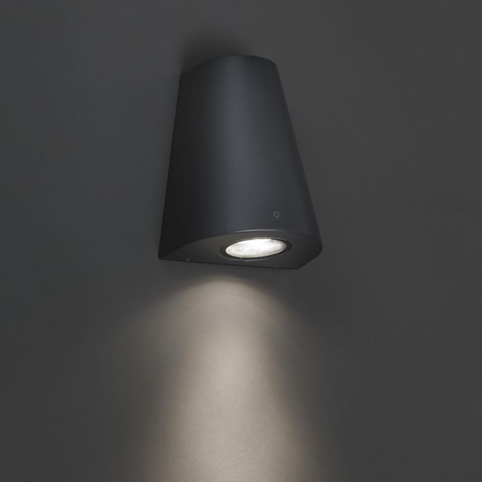 Moderne-wandlamp-donker-grijs-IP44---Dreamy