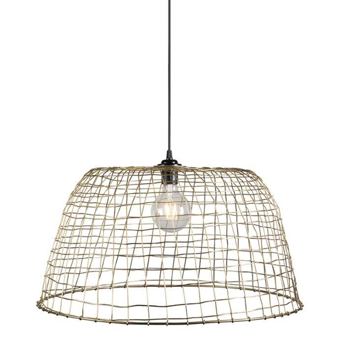 Hanglamp-Basket-60-goud