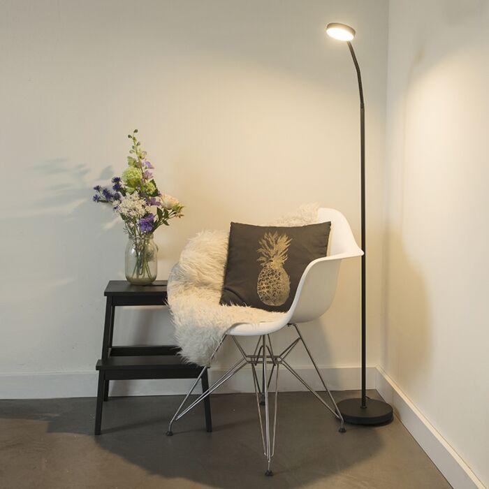 Trax-vloerlamp-zwart-incl.-LED