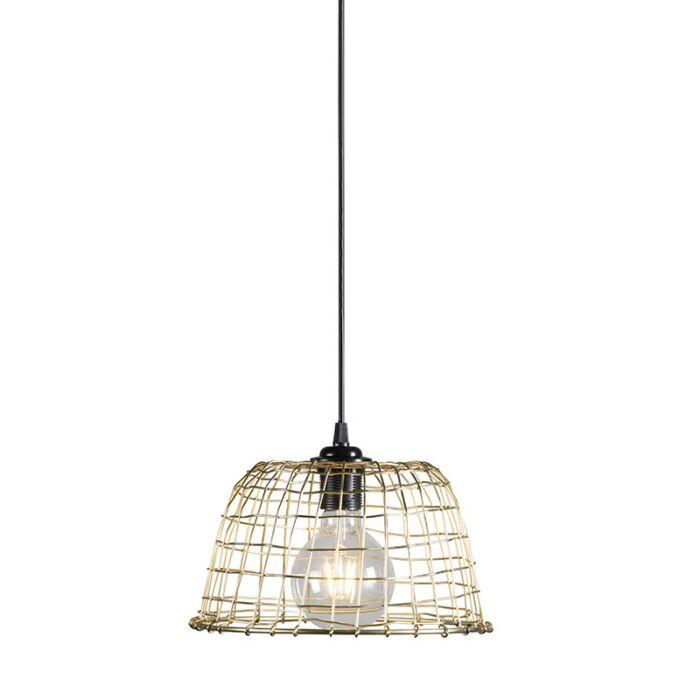 Hanglamp-Basket-24-goud