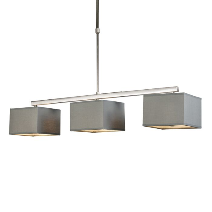 Moderne-hanglamp-grijs---Hanglamp-VT-3-