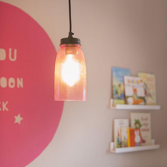 Hanglamp-Masons-pastelroze